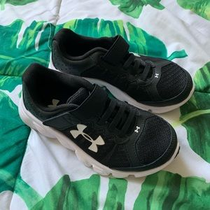 Under Armour athletic kids shoes